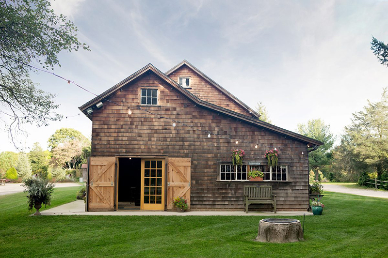 Barn venue feature